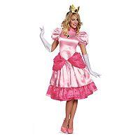 Nintendo Super Mario Bros. Deluxe Princess Peach Costume - Adult