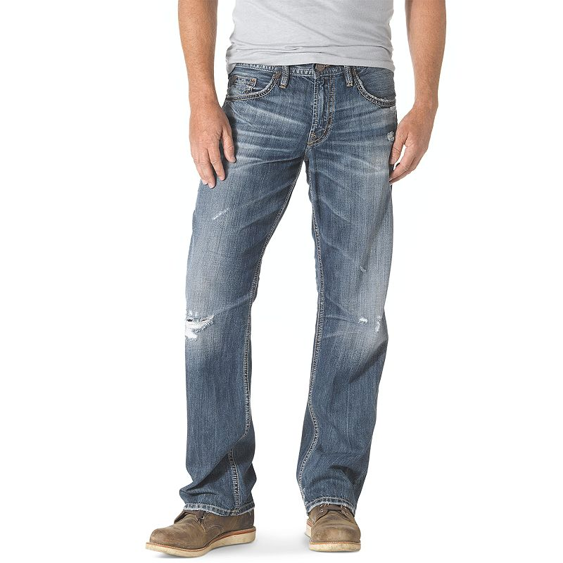 Men's Silver Jeans Gordie Loose-Fit Jeans