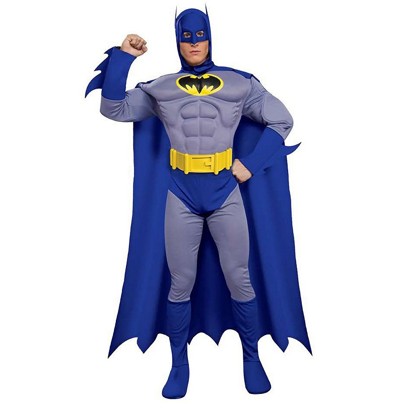 Batman Brave and Bold Deluxe Muscle Chest Costume - Adult