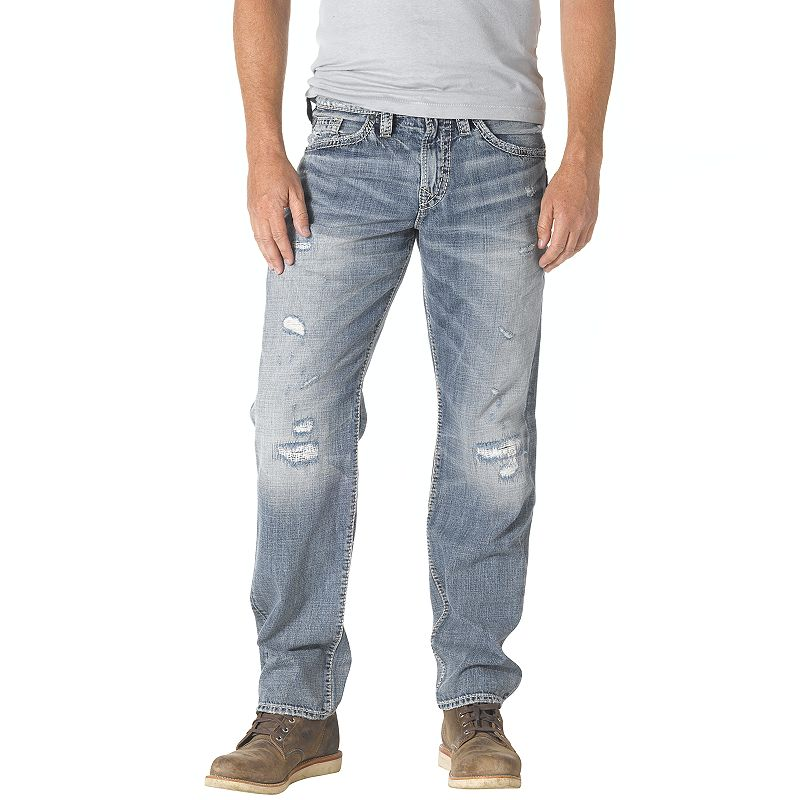 Men's Silver Jeans Gordie Loose Tapered Jeans