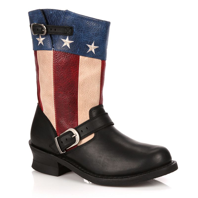 Durango Soho Women's Patriotic Engineer Boots