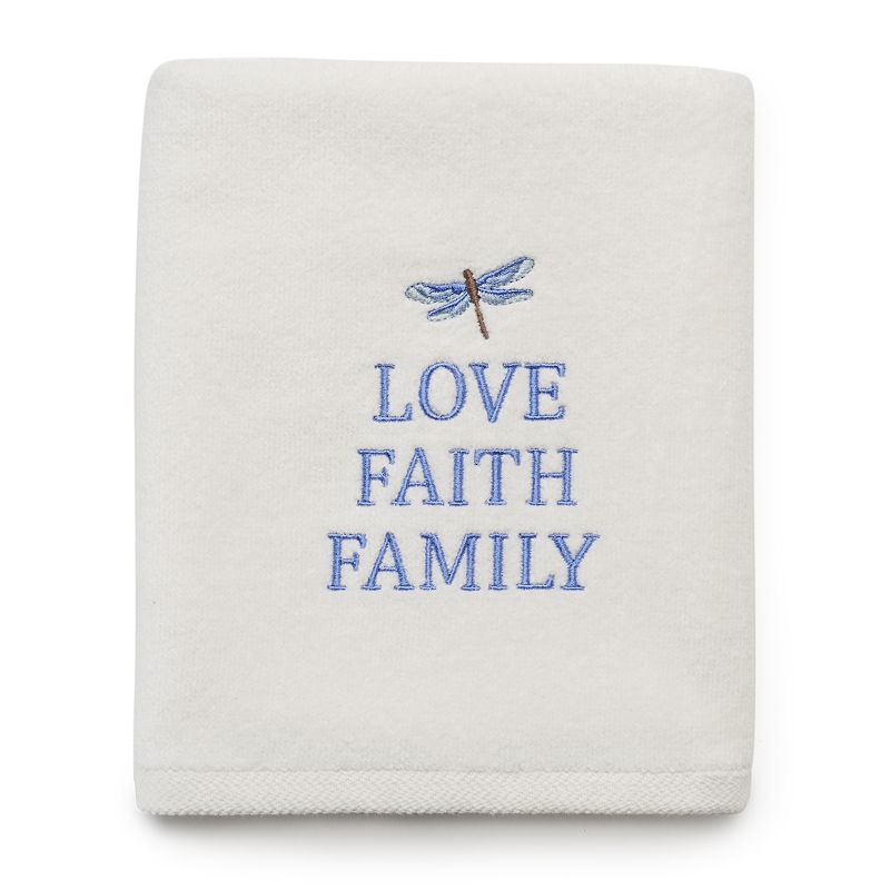 SONOMA Goods for Life™ ''Love Faith Family'' Dragonfly Hand Towel