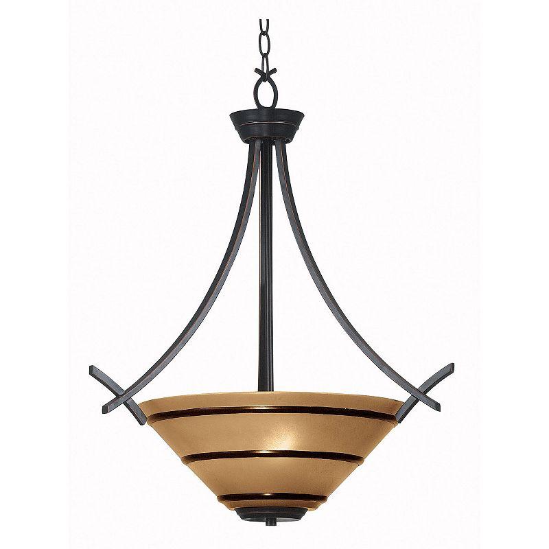 Wright 3-Light Pendant Lamp
