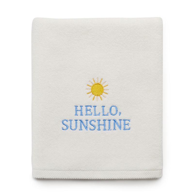 SONOMA Goods for Life™ ''Hello, Sunshine'' Hand Towel