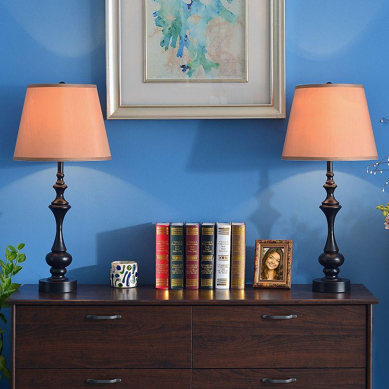 Stratton II 2-piece Table Lamp Set