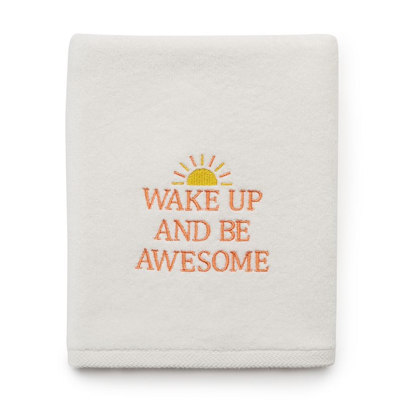 SONOMA Goods for Life™ ''Wake Up and Be Awesome'' Hand Towel
