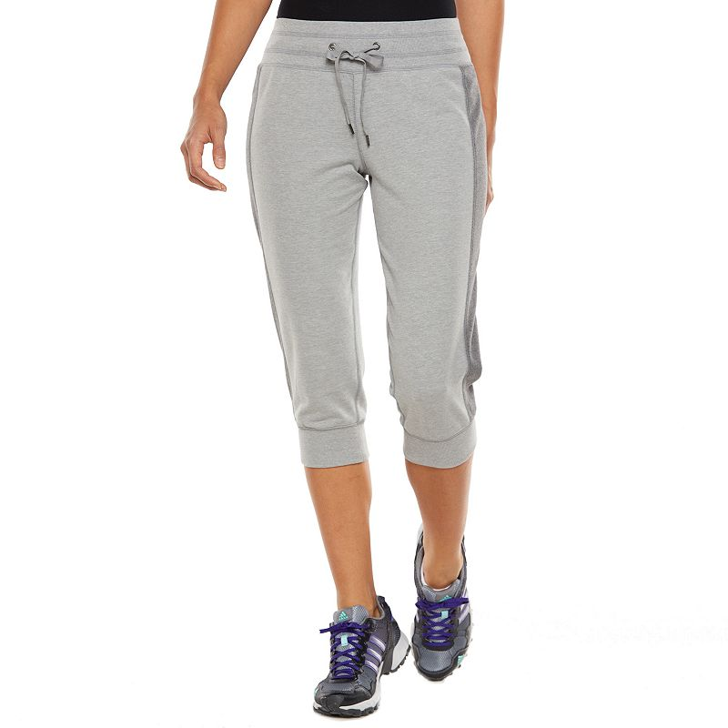 Women's Tek Gear® French Terry Banded-Bottom Capris