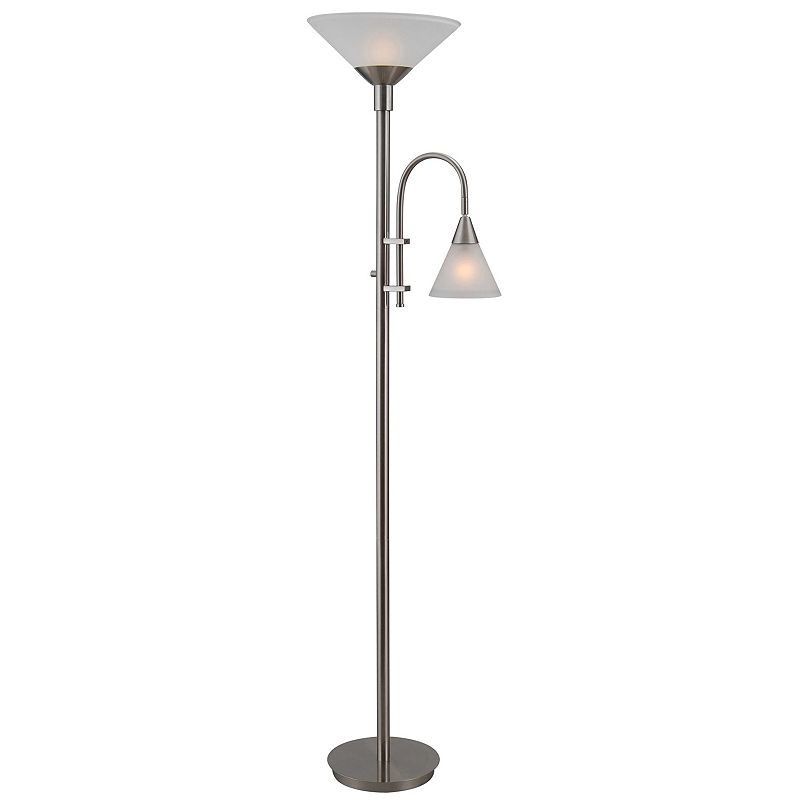 Brady Torchiere Floor and Reading Lamp