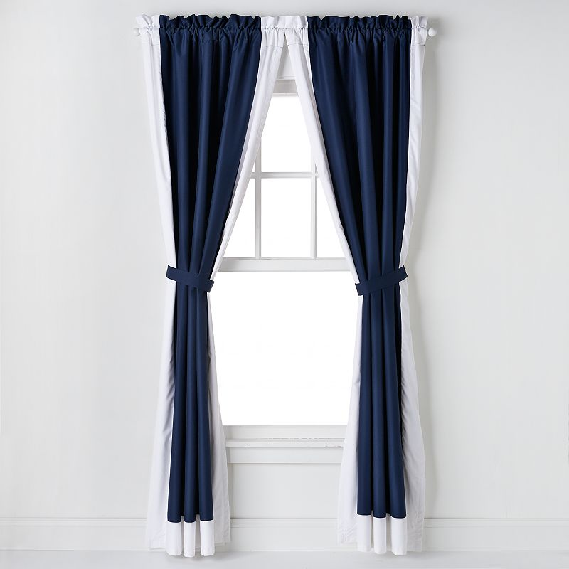 IZOD Varsity Stripe Curtains - 42'' x 84''