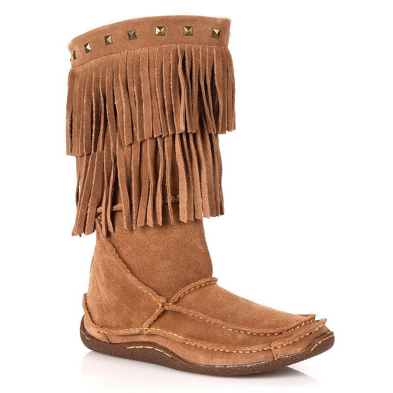 Durango Santa Fe Fringe Women's Tall Moccasin Boots