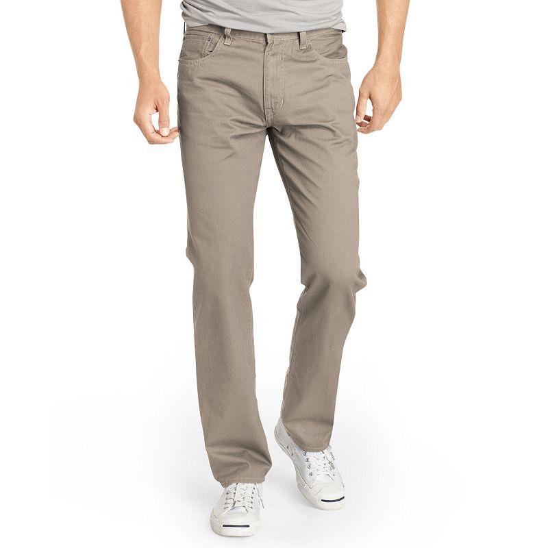Men's IZOD Regular-Fit Twill Pants