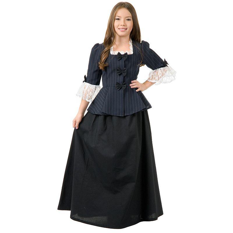 Colonial Girl Costume - Girls