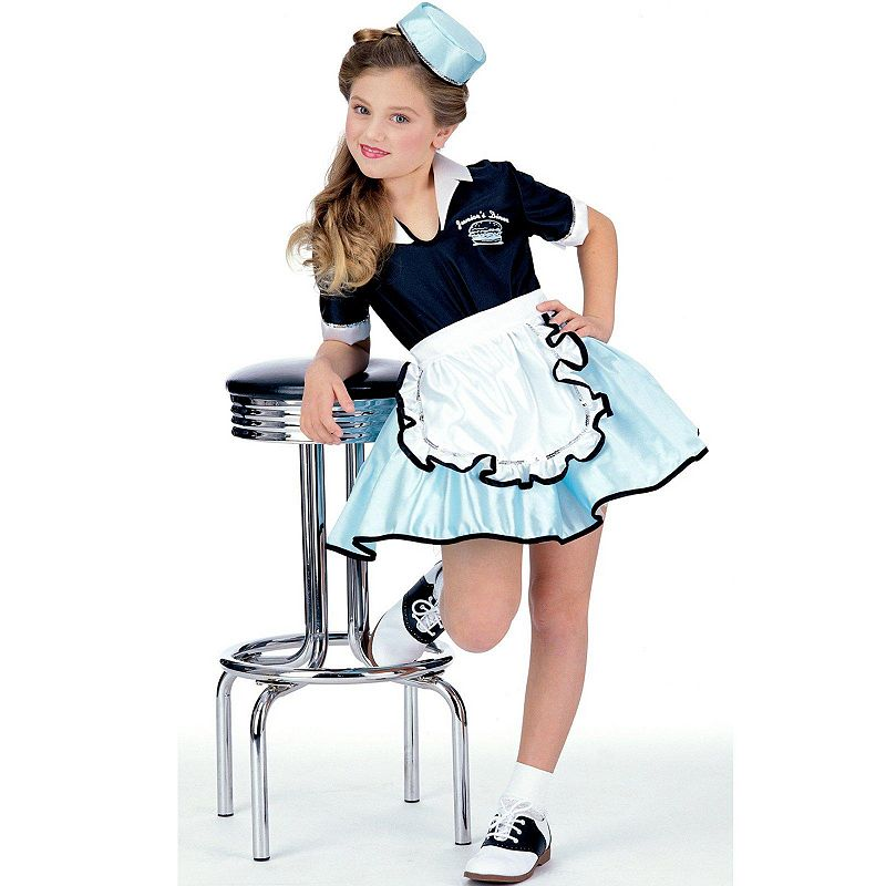Car Hop Girl Costume - Kids