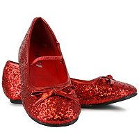 Kids Sparkle Ballerina Costume Shoes