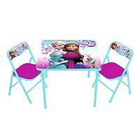 Disney Frozen Anna, Elsa & Olaf Activity Table & Chair Set