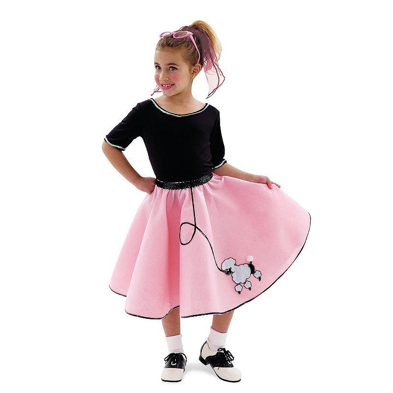 Sock Hop Sweetie Costume - Kids Small