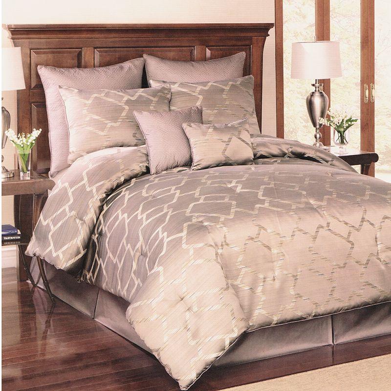 Platinum Interlock 8-pc. Comforter Set