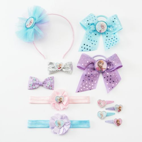Disney Frozen Elsa and Anna Hair Accessory Set - Girls