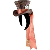 Disney Alice in Wonderland Cocktail Mad Hatter Costume Hat - Adult