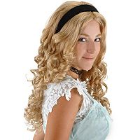 Disney Alice In Wonderland Alice Wig - Adult