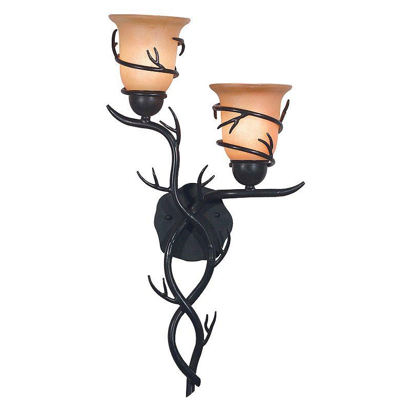 Twigs 2-Light Wall Sconce
