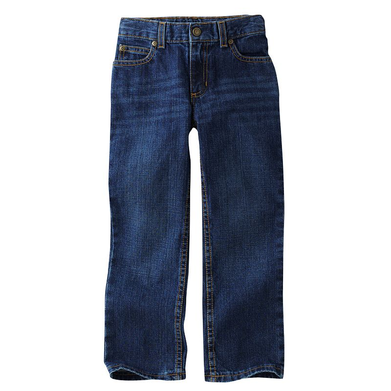 Boys 4-7x SONOMA Goods for Life™ Dark Stone Straight-Leg Jeans