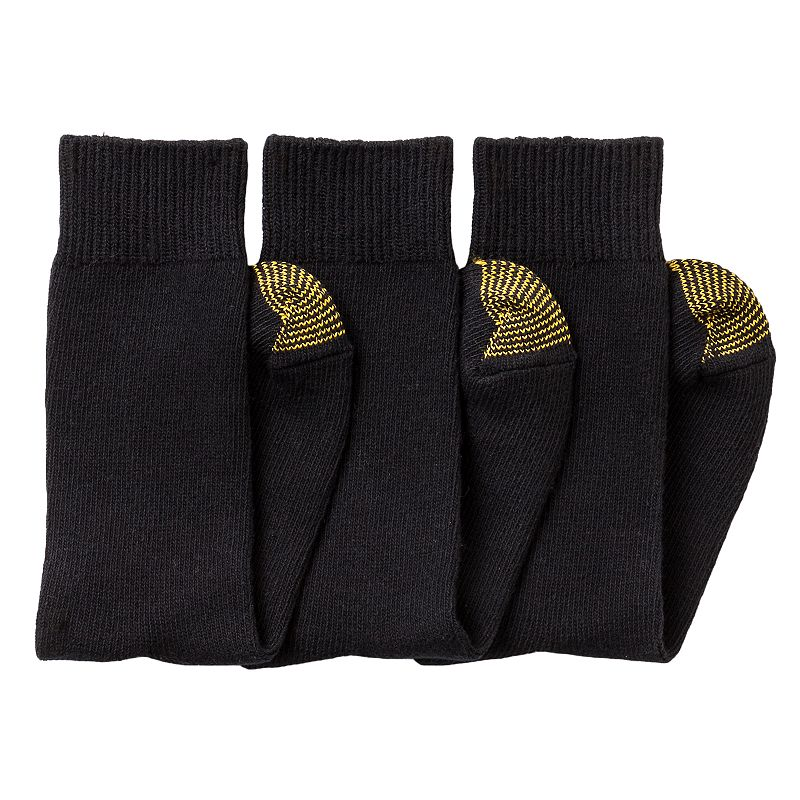 Men's GOLDTOE 3-pk. Crew Socks