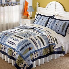 Catch a Wave Quilt Set by