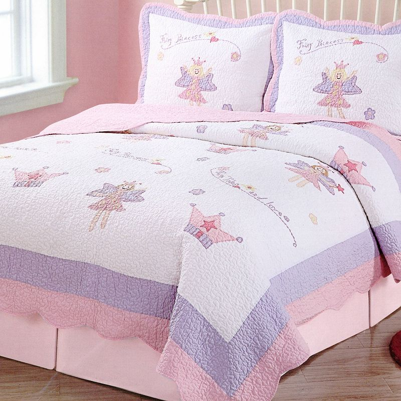 Fairy Princess Quilt Set