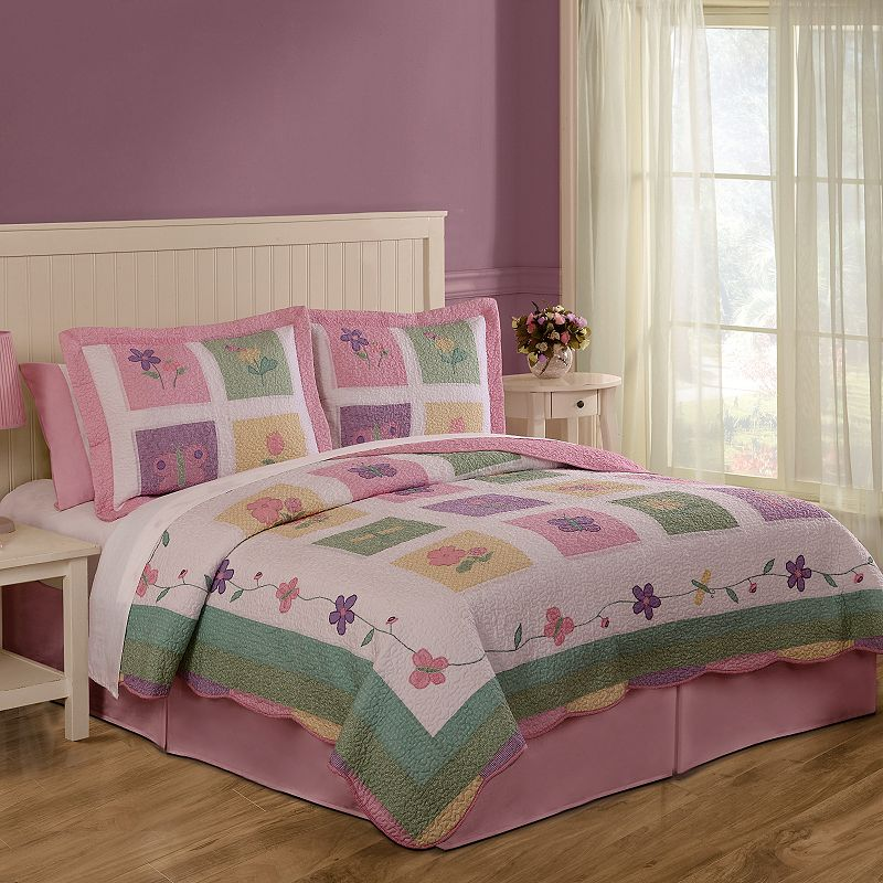 Spring Meadow Quilt Set