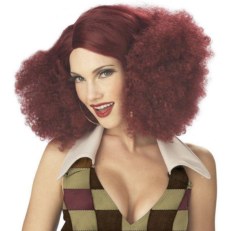 Disco Sensation Costume Wig - Adult