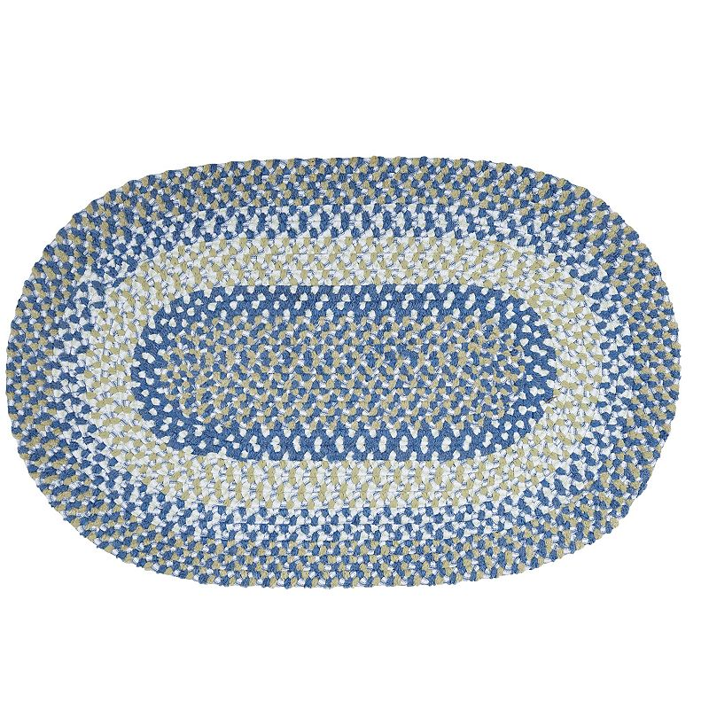 Colonial Mills Play Date Braided Reversible Rug - 3' x 5' Oval