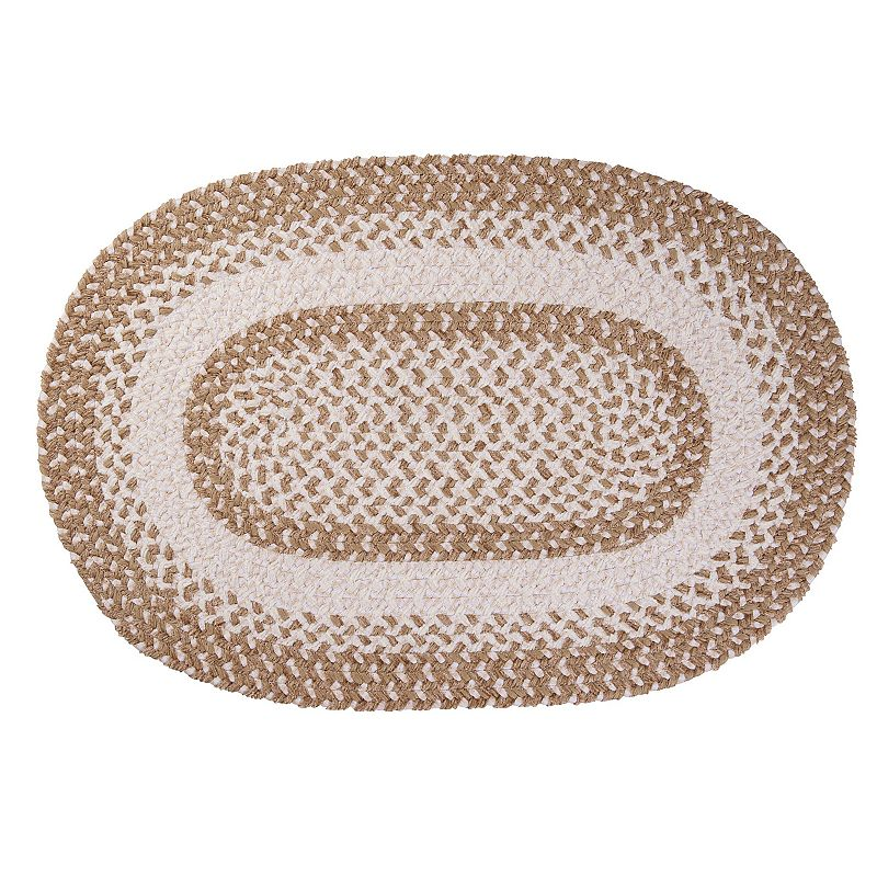 Colonial Mills Play Date Braided Reversible Rug - 6' x 9' Oval