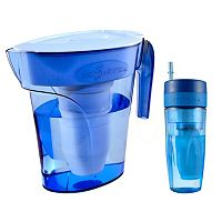 ZeroWater 6-cup Filtration Pitcher & 26-oz. Tumbler Set