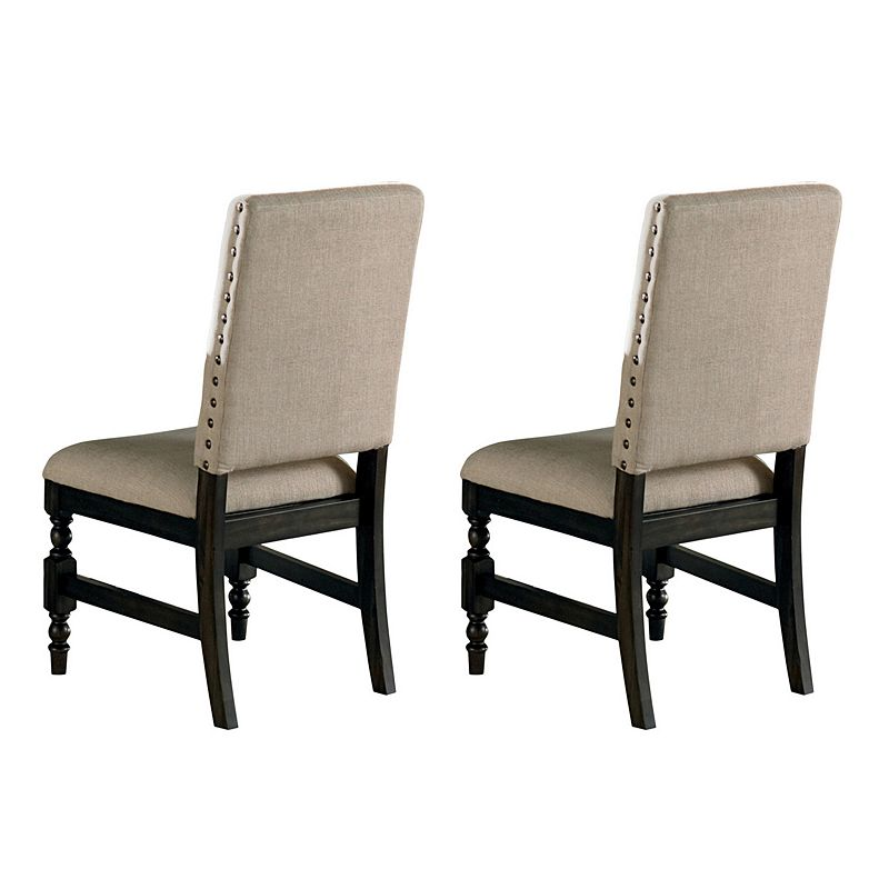 Leona 2-piece Dining Chair Set