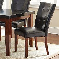 Granite Bello 2-piece Parsons Chair Set