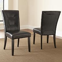 Monarch 2-piece Parsons Chair Set