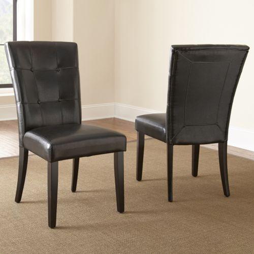 Monarch 2-piece Parsons Chair Set