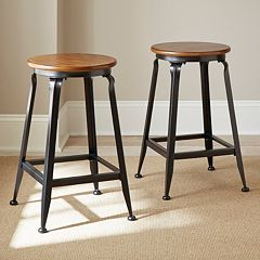 Adele 2-piece Counter Stool Set by