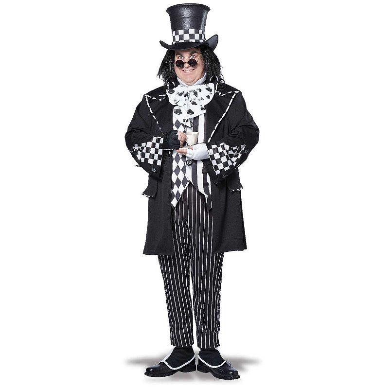 Alice in Wonderland Dark Mad Hatter Costume - Adult Plus
