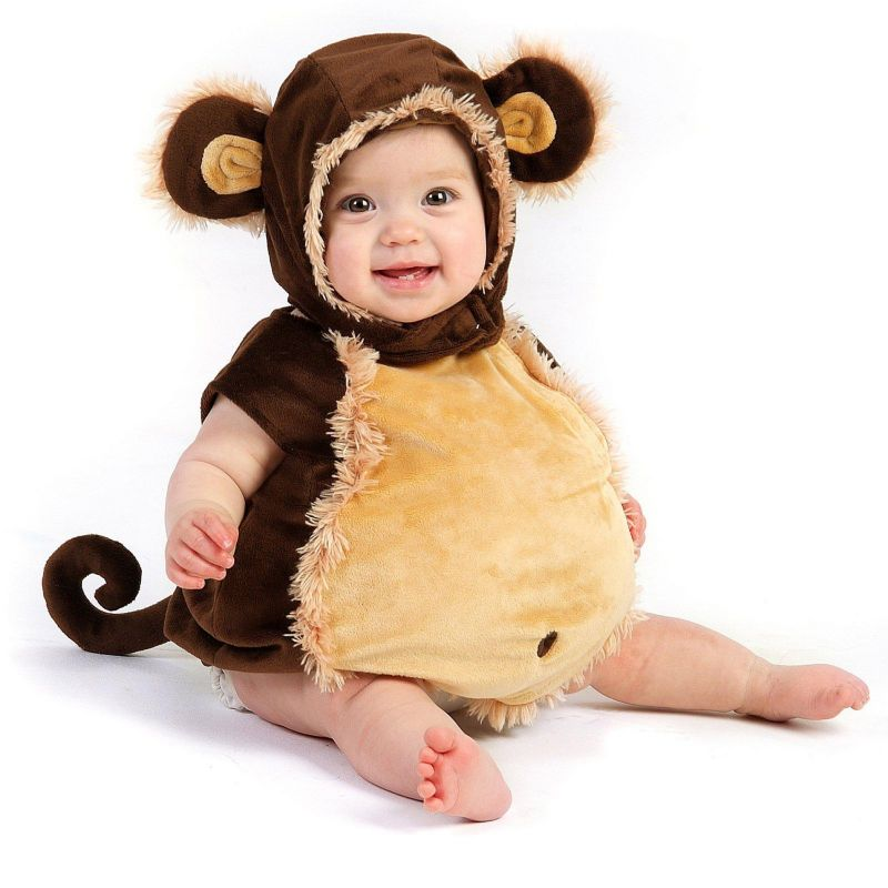 Mischievous Monkey Costume - Baby/Toddler (Brown)