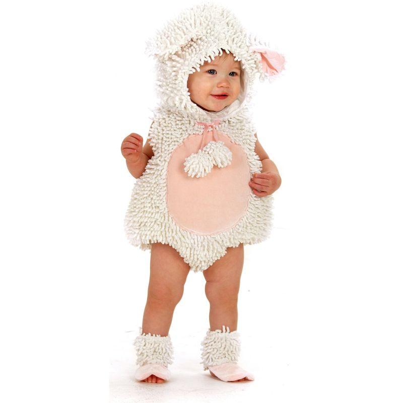 Little Lamb Costume - Baby/Toddler (White)