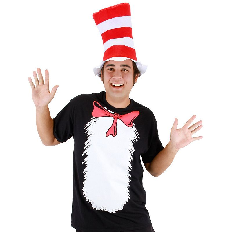 Cat in the Hat Costume - Adult