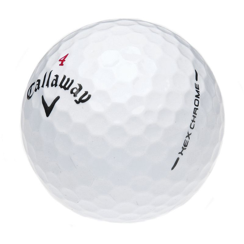 Callaway Chrome 12-pk. Recycled Golf Balls, Multi/None