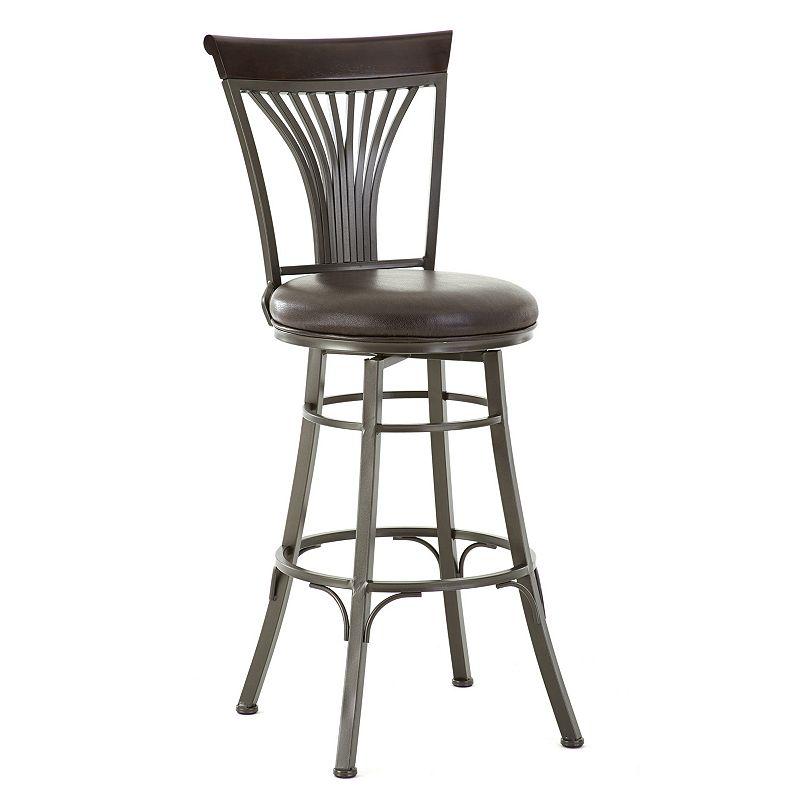 Karol Swivel Bar Chair