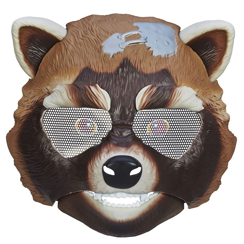 Marvel Guardians of the Galaxy Rocket Raccoon Action Mask by Hasbro