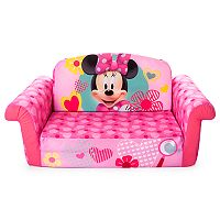 Disney Mickey Mouse & Friends Minnie Mouse Marshmallow 2-in-1 Flip Open Kids Sofa by Spin Master
