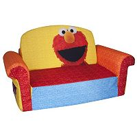 Sesame Street Elmo Marshmallow 2-in-1 Flip Open Kids Sofa by Spin Master