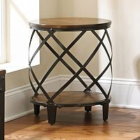 Winston Round End Table