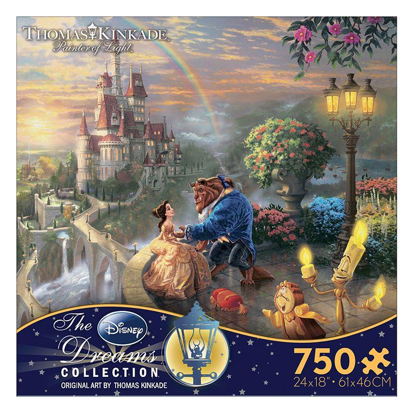 Disney Beauty and The Beast Thomas Kinkade 750-pc. Puzzle